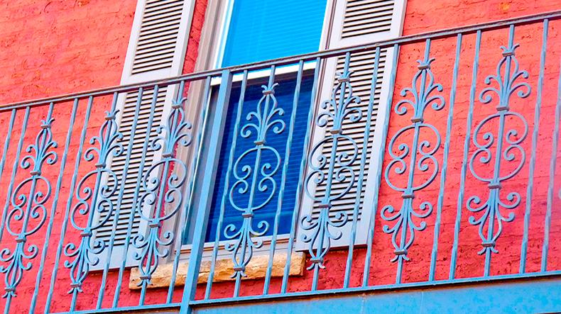 balcones reja metalica