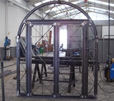 carpintería metálica puertas de entrada