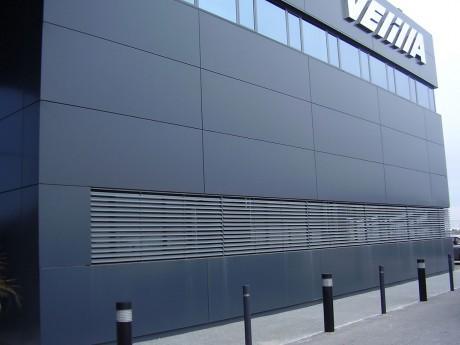 fachada de aluminio ventilada velilla