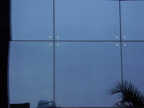trabajo realizado en fachada ventilada de aluminio