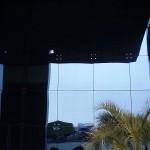detalle fachada ventilada en aluminio